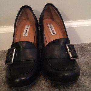 Steve Madden Stack-Heeled Shoe 7.5